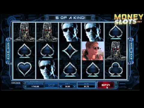 Terminator 2 Video Slots Review | MoneySlots.net