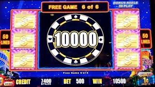 Lightning Link HIGH STAKES Max Bet Bonus BIG WIN   Lightning Link Feature & Free Games WON