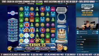 BIG WIN!!! Reactoonz Huge Win - Casino Games - free spins (Online Casino)