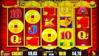 5 Dragons Good Fortune slot machine, Double, Bonus or Bust 1