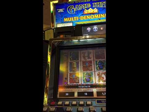 14$ Game King Cleopatra Jackpot (w/ Re-triggers)