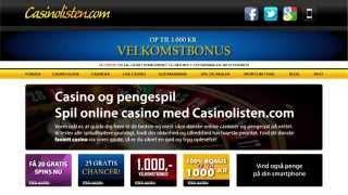 Casinolisten | Dansk animations video om casino spil