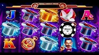 HANDPAY LOCK IT LINK HOLD ONTO YOUR HAT & CATS, HATS & MORE BATS SLOT MACHINE
