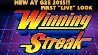 "NEW! WINNING STREAK - Jungle Wild Slot  - First 'LIVE"" Look - LIVE PLAY! - Slot Machine Bonus"