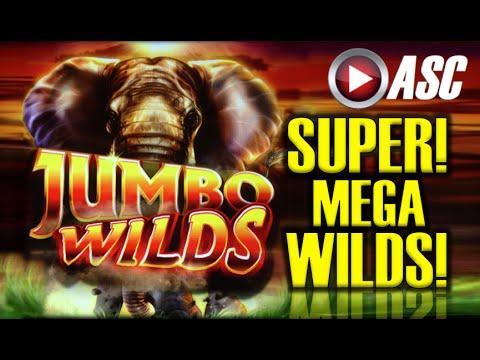 *BIG WIN!!* JUMBO WILDS (SWEET ZONE) | SUPER MEGA WILDS Slot Machine Bonus (Ainsworth)