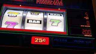 Live play on Aftershock slot machine!