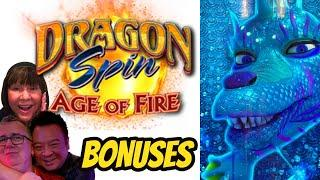 NEW DRAGON SPIN AGE OF FIRE WITH REX & ROBERT