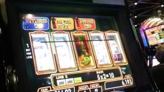 WOZ Yellow Brick Road 1c slot bonus - BIG WIN! (RARE GAME)