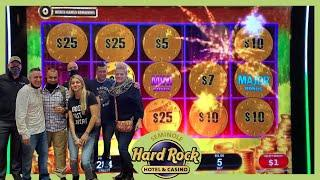 ⋆ Slots ⋆Big Winning on All Aboard at Tampa Hardrock⋆ Slots ⋆
