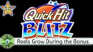 •️ New - Quick Hit Blitz slot machine, 2 Sessions, Bonus