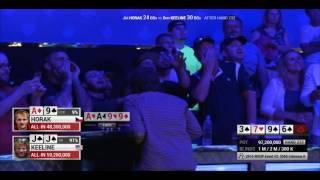 2016 WSOP Colossus - Millionaire for 10 seconds