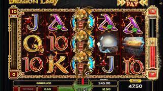 Dragon Lady slots - 457 win!