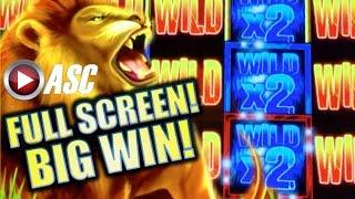 •BIG ROARING WIN!• GRAND LIONS | MUSTANG FEVER | FORTUNE FOX Slot Machine Bonus (AINSWORTH)