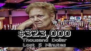 •Video Slot MASSIVE $323,000 BUCK LOSS High Stakes IGT, Aristocrat, WMS Machine GAMBLING | SiX Slot