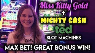 NEW TED Mighty Cash! Slot Machine! BONUS WIN!