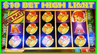 I KEPT ON FEEDING THIS MACHINE! DID IT PAY OFF?  High Limit Fortunes Ablaze Live Slot Play