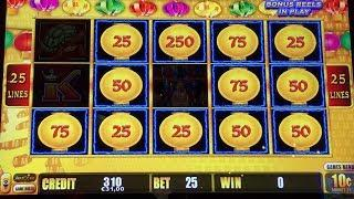 LIGHTNING LINK Slot Machine - Hold & Spin and Bonus - Good Win - Aristocrat
