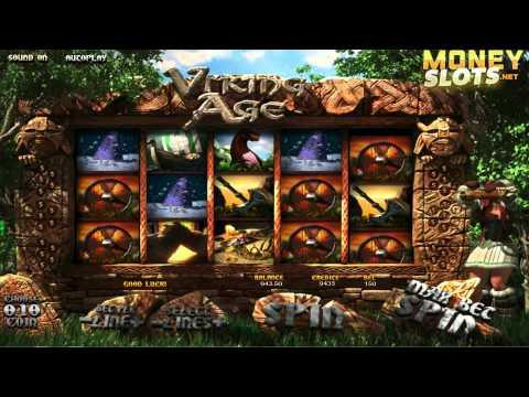 Viking Age Video Slots Review   MoneySlots.net