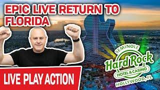 ⋆ Slots ⋆ EPIC LIVE RETURN to Hard Rock in Hollywood, FL ⋆ Slots ⋆ First of SIX BIG NIGHTS OF SLOT P
