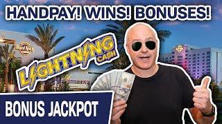 ★ Slots ★ HARD ROCK TAMPA SLOTS! ★ Slots ★ More HANDPAYS, WINS, BONUSES on Lightning Cash
