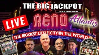 • Live High Limit Slot Play • Atlantis Casino Resort and Spa Reno •