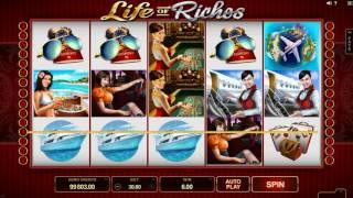 Life Of Riches Slot Features & Game Play - by Microgaming