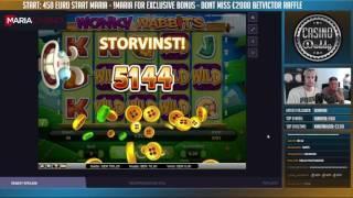 MASSIVE WIN Wonky wabbits - BONUS Insane Comeback - Huge win