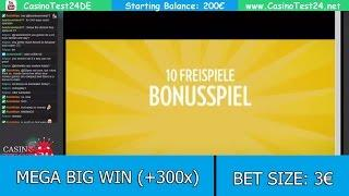 MEGA BIG WIN on Sunny Scoops Slot (Thunderkick) - 3€ BET!