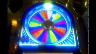 IGT 5 Times Pay Wheel of Fortune Wheel Progressive Wheel spin