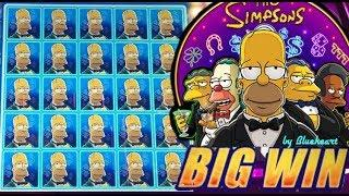 • MY BEST WIN! •  SIMPSONS slot machine and ALADDIN'S FORTUNE 3D slot machine BIG WINS!