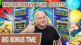 ⋆ Slots ⋆ INCREDIBLE Fun Playing DOLLAR STORM SLOTS ⋆ Slots ⋆ Caribbean Gold Has Me WINNING