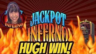 HUGE WIN ON JACKPOT INFERNO
