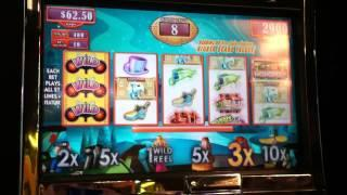 Monopoly Party Train Slot Machine Bonus - Free Spins