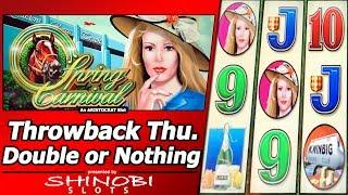 Spring Carnival Slot - Throwback Thursday Double or Nothing Live Play