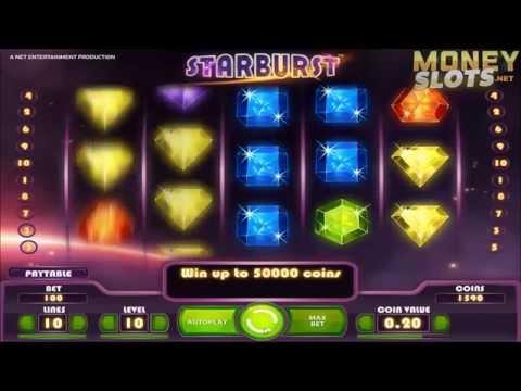 Starburst Video Slots Review  |  MoneySlots.net