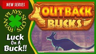 Mighty Cash Outback Bucks | Luck On A Buck Series | Ryan Plays Slots