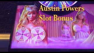 Austin Powers Slot Machine - Quick but big bonus win