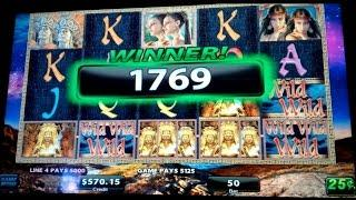 *JACKPOT HANDPAY* Midnight Eclipse Slot Machine *AS IT HAPPENS* $12.50 Bet & Live Play Bonus!