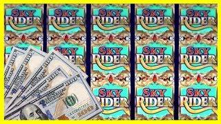 • The EYE gave the BONUS • Sky Rider FULL SCREEN • EZ Life Slot Jackpots