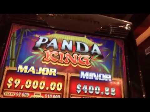 MEGA JACKPOT $10K Panda King HANDPAY jackpot major progressive awarded