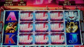 Snow Stars Slot Machine Bonus - More Wilds Feature - 10 Free Games Win with 30 Added Wilds (#2)