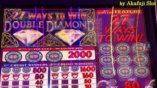 BIG WIN•Buffalo Grand, 27 WAYS TO WIN Double Diamond, Pink Diamond Cosmopolitan LasVegas Akafujislot