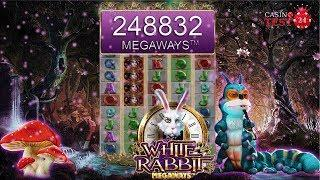 MUST SEE!!! ULTRA HUGE MEGA BIG WIN ON THE NEW WHITE RABBIT SLOT (BTG) - BIGGEST WIN ON YOUTUBE?