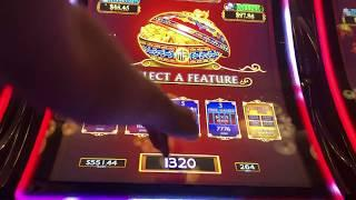FUN! • DANCING DRUMS • BIG WIN BONUS VIDEO in LAS VEGAS • with SIZZLING SLOT MACHINE JACKPOTS
