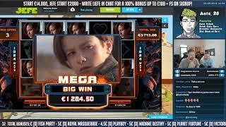 ᐅ Terminator 2 Slot - Hot Mode live on Stream 1,50€ BET