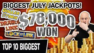 ⋆ Slots ⋆ EXPLOSIVE: I Won $78,000 Playing HIGH-LIMIT SLOTS ⋆ Slots ⋆ Top 10 BIGGEST July Jackpots