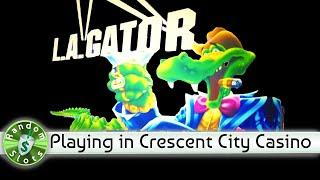 L A Gator slot machine in Crescent City California