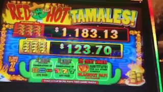 RED HOT TAMALES ~ Bad Bonuses & A Tiny Profit ~ Live Slot Play @ San Manuel