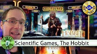 The Hobbit slot machine preview, Scientific Games, #G2E2019