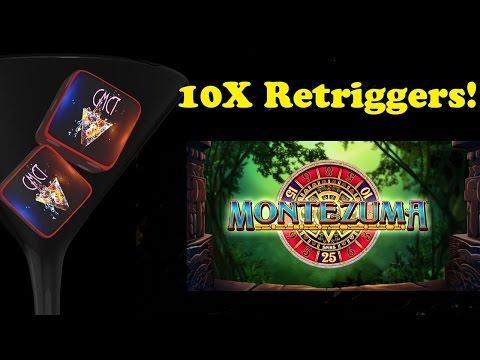 • HUGE MONTEZUMA WIN! • 10X SPINS APLENTY! :) $1.60 BET